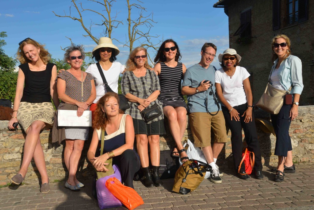 A field trip to a Tuscan hill town provides an opportunity for sun, culture and a bit of shopping.